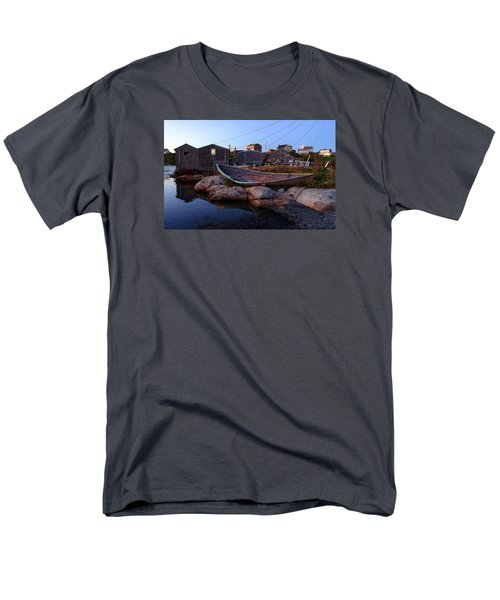 Peggy's Cove, Nova Scotia Men's T-Shirt  (Regular Fit) by Heather Vopni