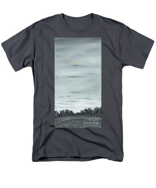 Men's T-Shirt  (Regular Fit) featuring the painting To The Stars by Kenneth Clarke