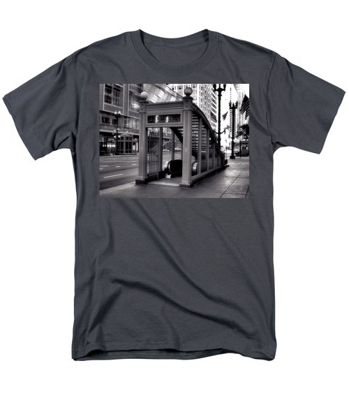 To The Subway - 2 Men's T-Shirt  (Regular Fit) by Ely Arsha