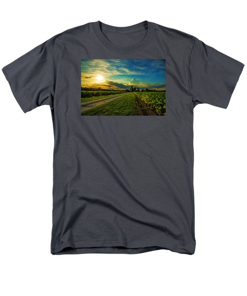 Men's T-Shirt  (Regular Fit) featuring the photograph Tobacco Row by John Harding