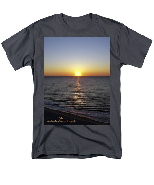Men's T-Shirt  (Regular Fit) featuring the photograph Today by Rhonda McDougall