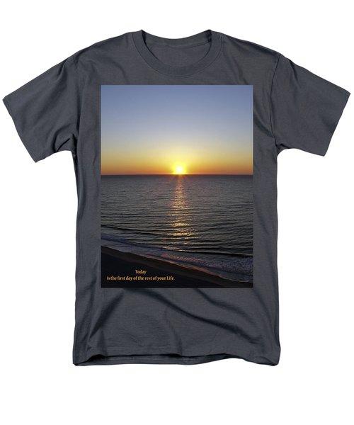 Today Men's T-Shirt  (Regular Fit) by Rhonda McDougall