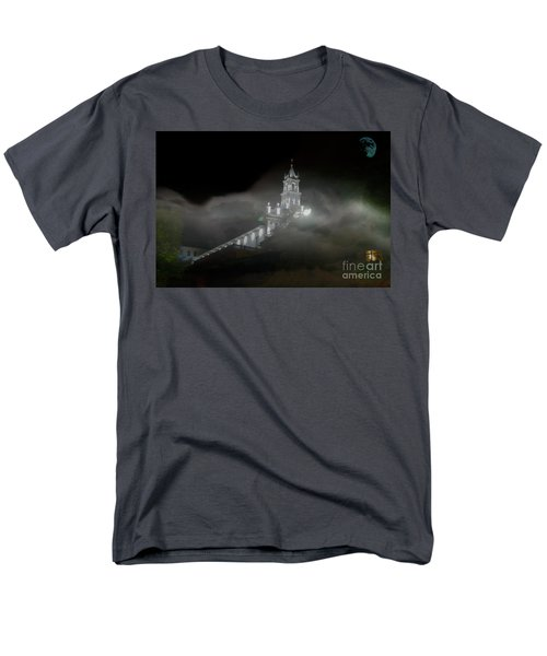 Men's T-Shirt  (Regular Fit) featuring the photograph Todos Santos In The Fog by Al Bourassa