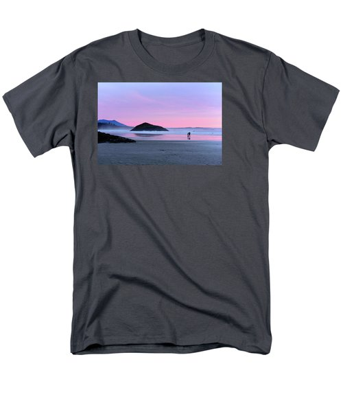 Tofino Sunset Men's T-Shirt  (Regular Fit) by Keith Boone