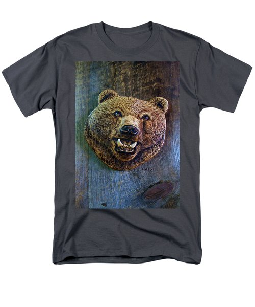 Men's T-Shirt  (Regular Fit) featuring the pyrography Together Again by Ron Haist