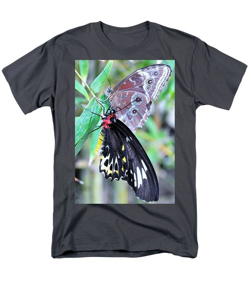 Men's T-Shirt  (Regular Fit) featuring the photograph Together Always by Kicking Bear Productions