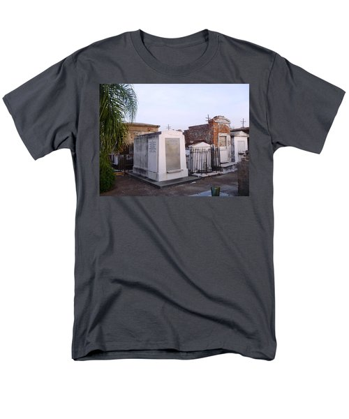 Tombs In St. Louis Cemetery Men's T-Shirt  (Regular Fit) by Alys Caviness-Gober