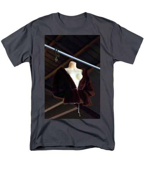 Men's T-Shirt  (Regular Fit) featuring the photograph Top Fur Coat by Viktor Savchenko