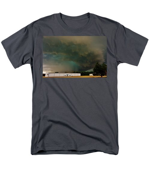 Tornadic Supercell Men's T-Shirt  (Regular Fit) by Ed Sweeney