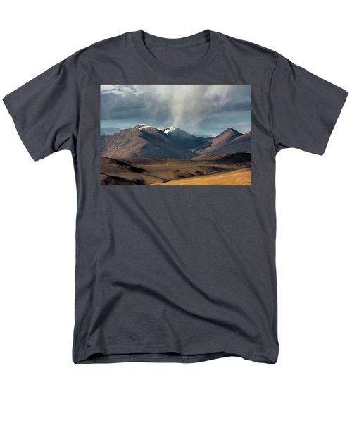 Touch Of Cloud Men's T-Shirt  (Regular Fit) by Hitendra SINKAR
