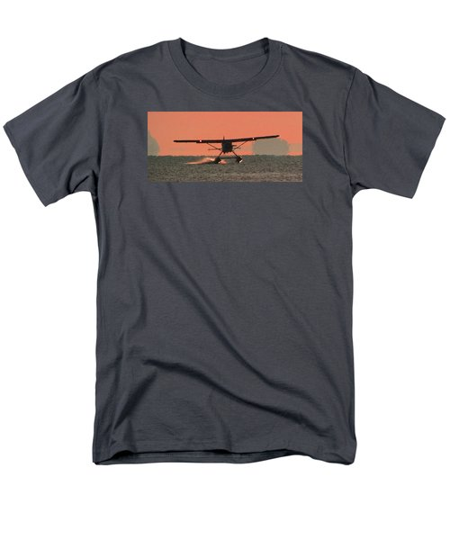 Men's T-Shirt  (Regular Fit) featuring the photograph Touchdown by Mark Alan Perry