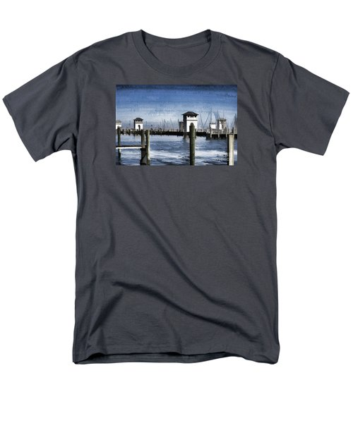 Towers And Masts Men's T-Shirt  (Regular Fit) by Roberta Byram