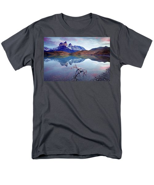Towers Of The Andes Men's T-Shirt  (Regular Fit) by Phyllis Peterson