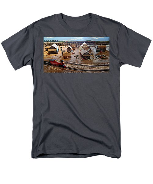 Tracks Men's T-Shirt  (Regular Fit) by Steve Sperry