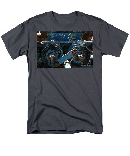Men's T-Shirt  (Regular Fit) featuring the photograph Tractor Engine IIi by Stephen Mitchell