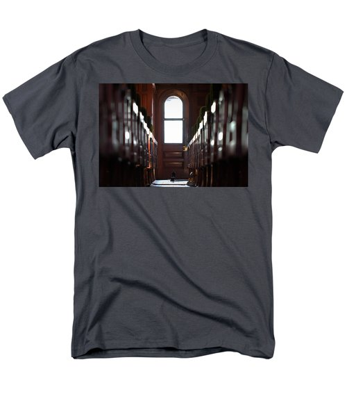 Train Car Interior Men's T-Shirt  (Regular Fit) by Joseph Skompski