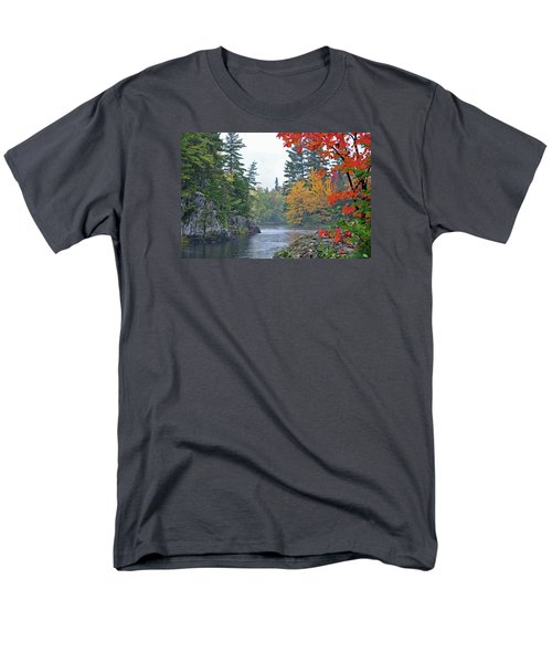 Men's T-Shirt  (Regular Fit) featuring the photograph Autumn Tranquility by Glenn Gordon