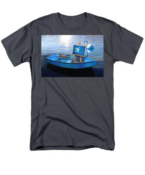 Tranquility Men's T-Shirt  (Regular Fit) by Nanda Dixit