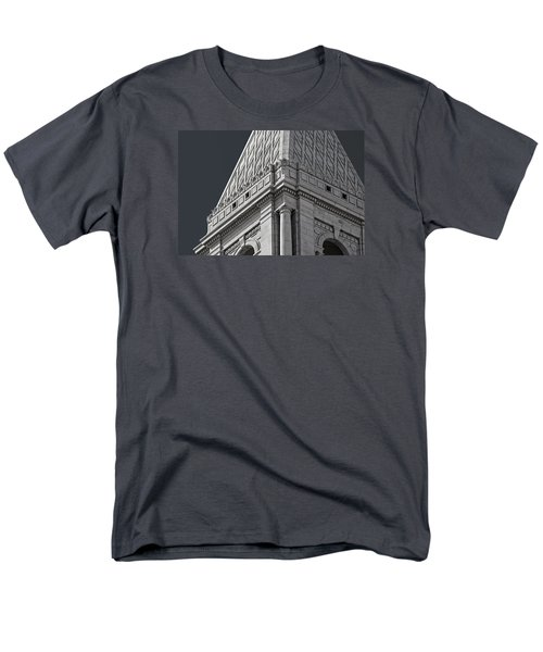 Travelers Tower Summit Men's T-Shirt  (Regular Fit) by Phil Cardamone