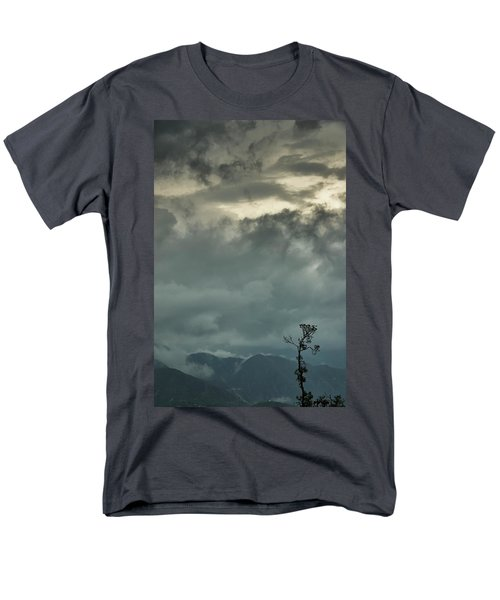 Tree. Bright Light Men's T-Shirt  (Regular Fit) by Rajiv Chopra
