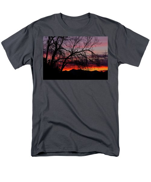 Tree Silhouette Men's T-Shirt  (Regular Fit) by Paul Marto