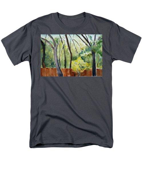 Trees1 Men's T-Shirt  (Regular Fit) by Tom Simmons