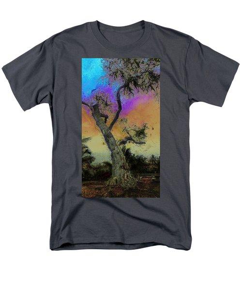 Men's T-Shirt  (Regular Fit) featuring the photograph Trembling Tree by Lori Seaman