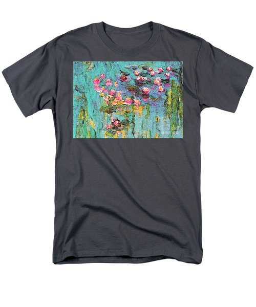 Tribute To Monet II Men's T-Shirt  (Regular Fit) by Holly Martinson