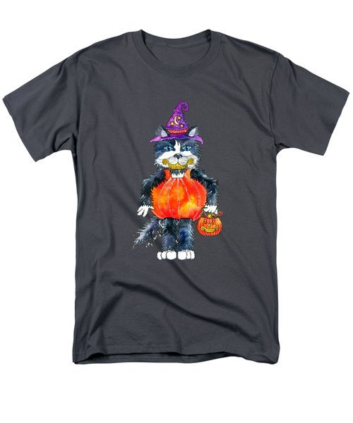 Trick Or Treat Men's T-Shirt  (Regular Fit) by Shelley Wallace Ylst