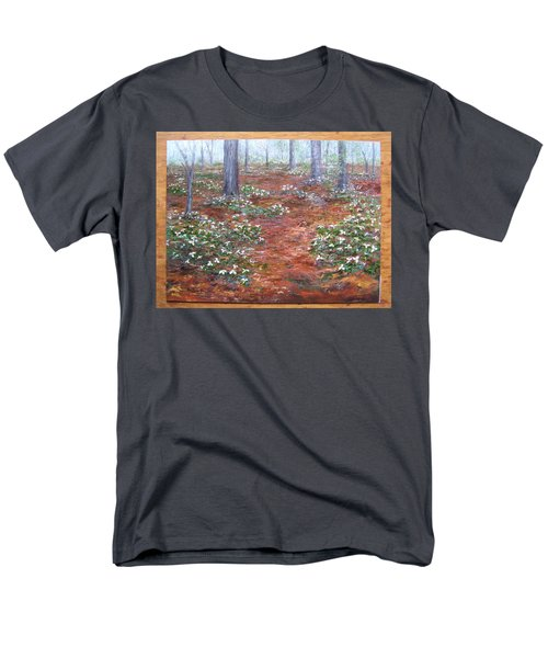 Trilliums After The Rain Men's T-Shirt  (Regular Fit)