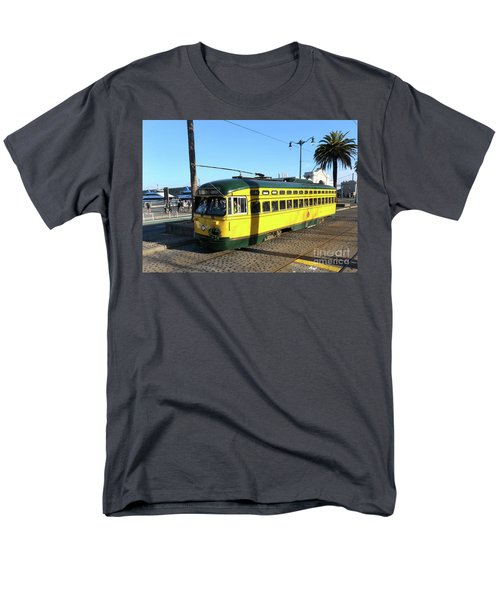 Men's T-Shirt  (Regular Fit) featuring the photograph Trolley Number 1071 by Steven Spak