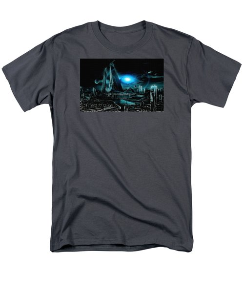Tron Revisited Men's T-Shirt  (Regular Fit) by Mario Carini