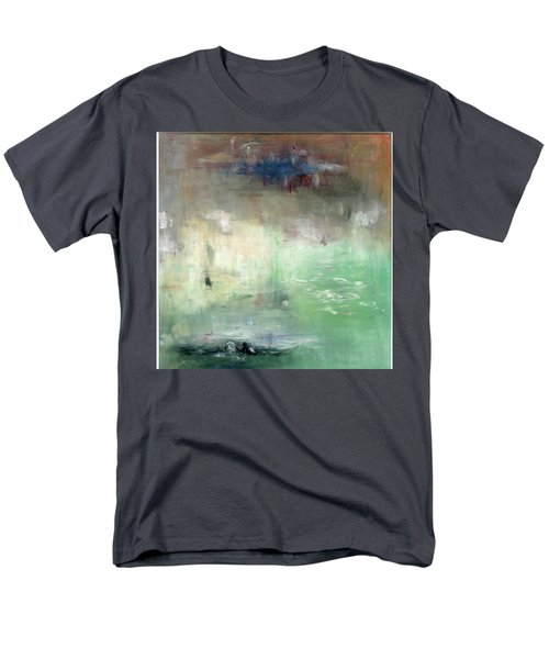 Men's T-Shirt  (Regular Fit) featuring the painting Tropic Waters by Michal Mitak Mahgerefteh