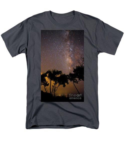 Tropical Milky Way Men's T-Shirt  (Regular Fit)