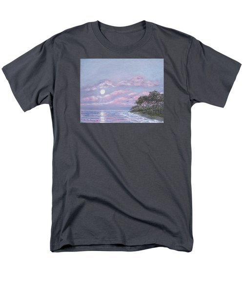 Men's T-Shirt  (Regular Fit) featuring the painting Tropical Moonrise by Kathleen McDermott