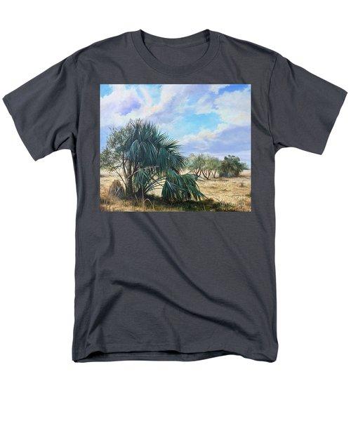 Tropical Orange Grove Men's T-Shirt  (Regular Fit) by AnnaJo Vahle