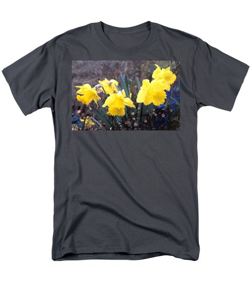 Trumpets Of Spring Men's T-Shirt  (Regular Fit) by Steve Karol