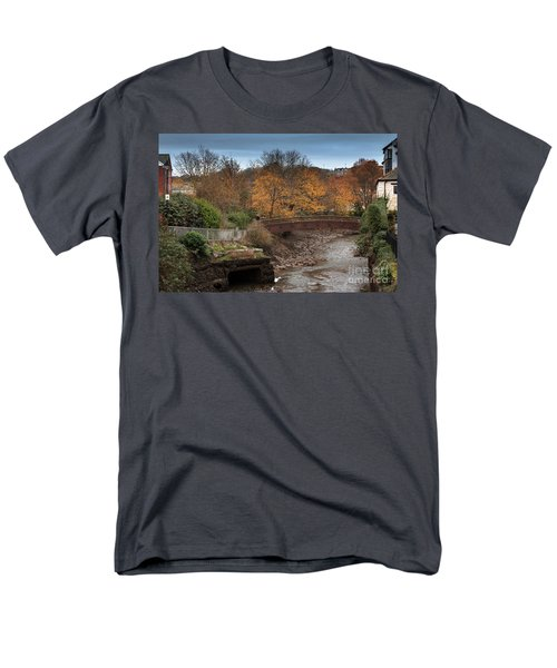Men's T-Shirt  (Regular Fit) featuring the photograph Truro River by Brian Roscorla
