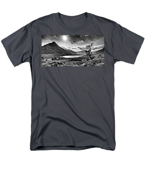 Men's T-Shirt  (Regular Fit) featuring the photograph Tryfan And Llyn Ogwen by Beverly Cash
