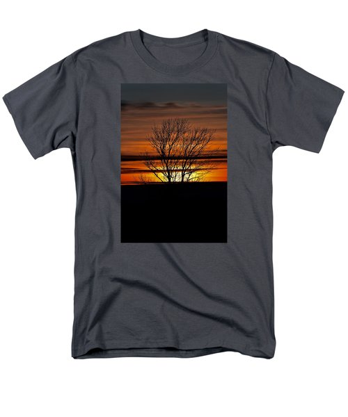 Men's T-Shirt  (Regular Fit) featuring the photograph Tuesday Afternoon Sunset by Dacia Doroff