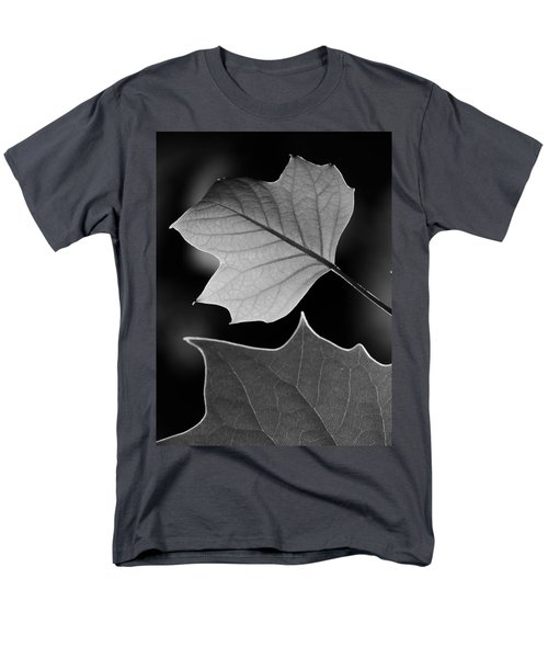 Men's T-Shirt  (Regular Fit) featuring the photograph Tulip Tree Leaves Competing For Light by Jane Ford
