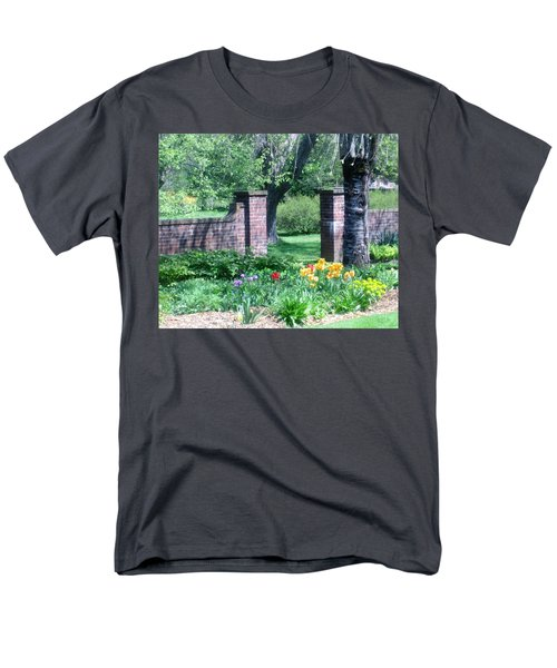 Tulips At Glen Magna Farms Men's T-Shirt  (Regular Fit) by Paul Meinerth