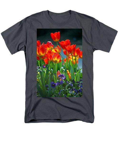 Tulips Men's T-Shirt  (Regular Fit) by Robert Meanor