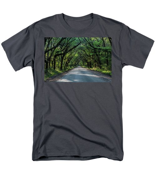 Men's T-Shirt  (Regular Fit) featuring the photograph Tunnel On Botany Bay by Jon Glaser