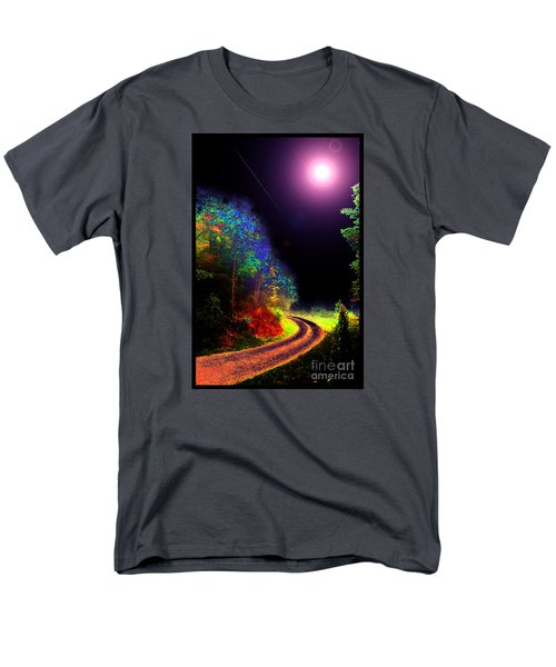 Men's T-Shirt  (Regular Fit) featuring the photograph Twelve Dimensions Of Harmonic Delight by Susanne Still