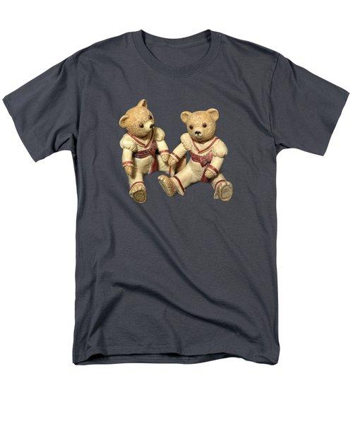 Men's T-Shirt  (Regular Fit) featuring the photograph Twin Hagara Bears by Linda Phelps