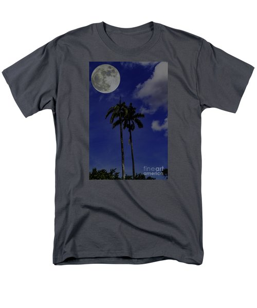 Men's T-Shirt  (Regular Fit) featuring the photograph Twin Palms by Ken Frischkorn