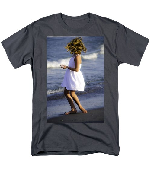 Twirling  Men's T-Shirt  (Regular Fit) by Mary Ward