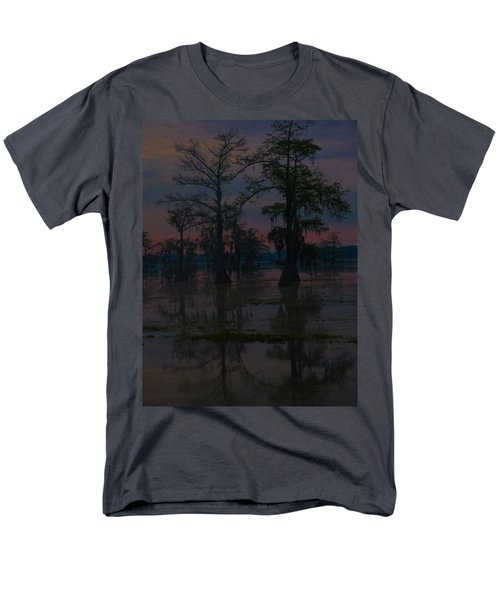 Two Cypress At Dawn Men's T-Shirt  (Regular Fit) by Kimo Fernandez