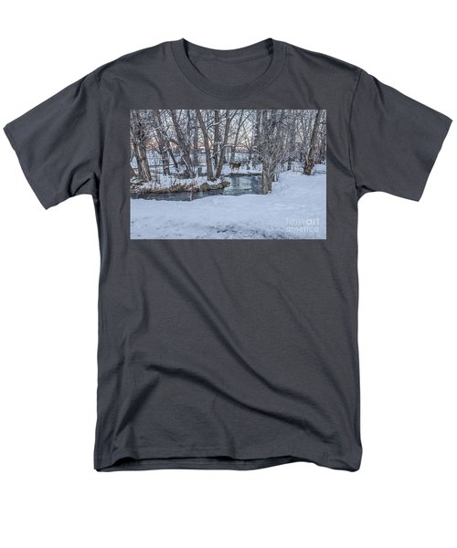 Two Deer At Sunset Men's T-Shirt  (Regular Fit) by Sue Smith